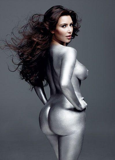 Kim Kardashian in W's November 2010 issue.  Photographs by Mark Seliger