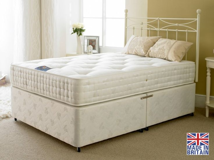 Apollo Jubilee 1000 Pocket Sprung Divan Bed With 4 Free