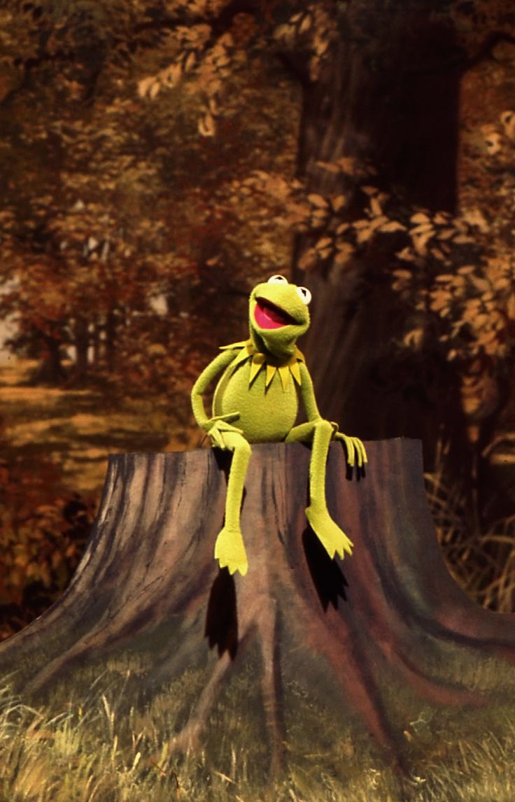"vintagehenson: "" Bein' Green by Kermit the Frog """