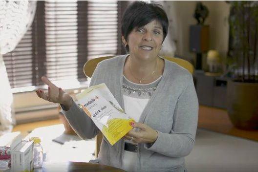 Comme c'est intéressant de voir les innovations qui sont mises de l'avant pour faciliter le quotidien! Connaissez-vous les sacs de stérilisation de Medela?