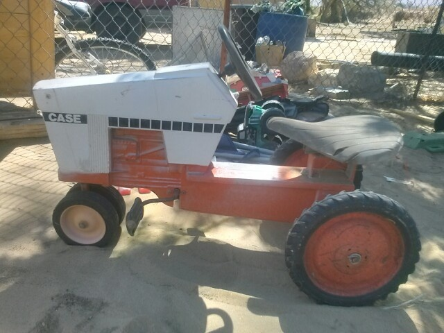 Tractor Pedal Car Parts : Case tractor pedal car one similar sold at auction for