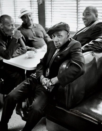 Mos Def + Lost Poets  by Mark Seliger