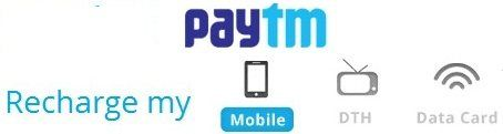 Paytm Mobile & DTH Recharge Offer 20% Cashback for Axis & HDFC Bank Customers