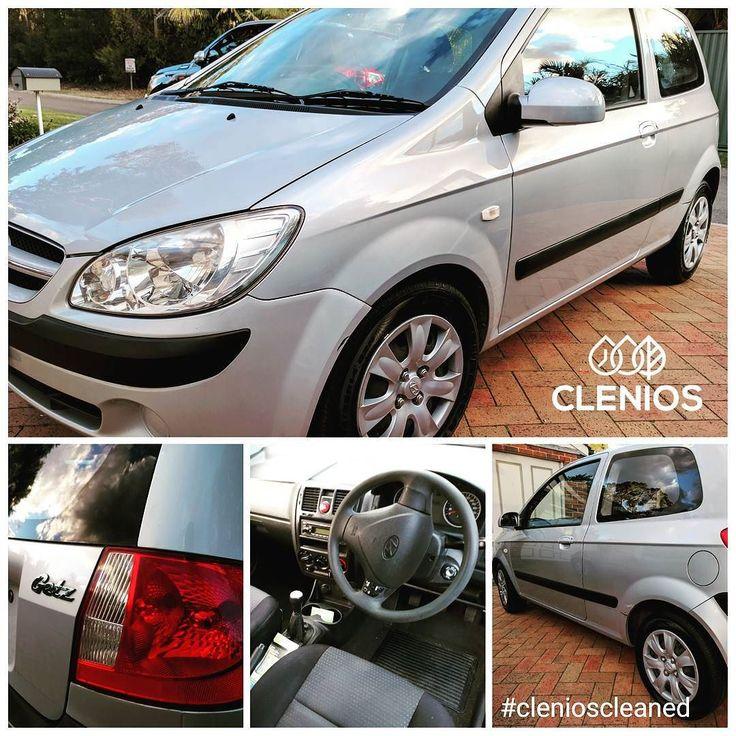 #Hyundai #getz #clenioscleaned #presale #Waterless #detail #drycleaningforcars #silver #SteamClean #shine #gloss #Sydney #Australia