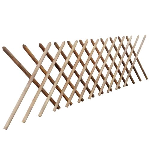 53.33$  Know more  - Valla enrejada expandible de madera impregnada 250 x 100 cm