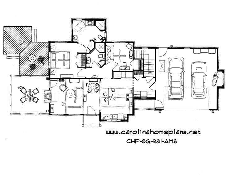 Captivating carolina house plans ideas exterior ideas 3d for Downsize home plans