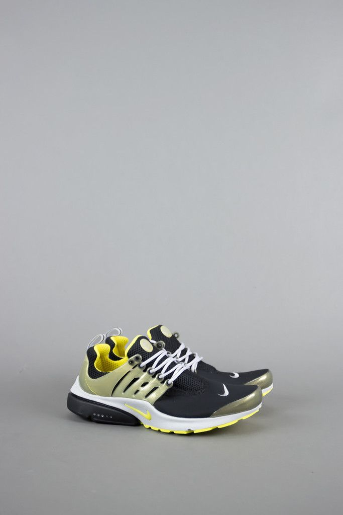 "NIKE AIR PRESTO SP ""GENEALOGY OF FREE"" BLACK YELLOW STREAK NIKE AIR PRESTO SP ""GENEALOGY OF FREE"" BLACK YELLOW STREAK 689800-007"