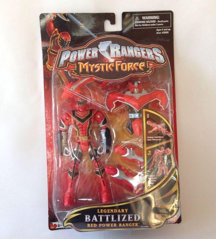 Power Rangers Mystic Force Battlized Red Phoenix Figure NEW Sealed Titan MOC Toy #Bandai