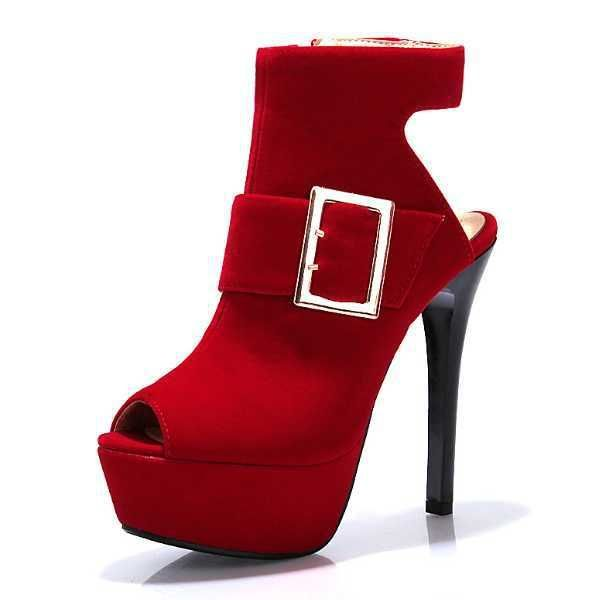 Sandals Half Shoes Buckle Zipper Thin High Heels Peep Toe Platform Ankle Boots Party Summer Boots //Price: $55.68 & FREE Shipping //http://likeadiamondworld.com/plus-size-34-43-sandals-half-women-shoes-buckle-zipper-thin-high-heels-peep-toe-platform-ankle-boots-party-summer-boots/