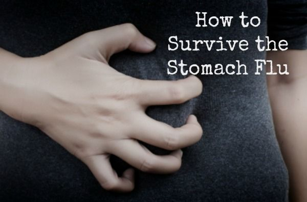 How to Survive the Stomach Flu