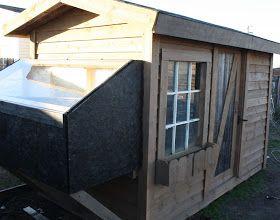 Modern Day Redneck: Solar Bathhouse Continued