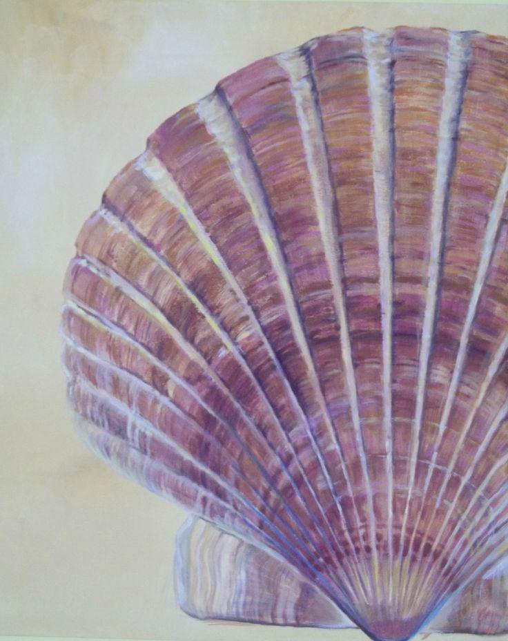 Shell Acrylic on canvas