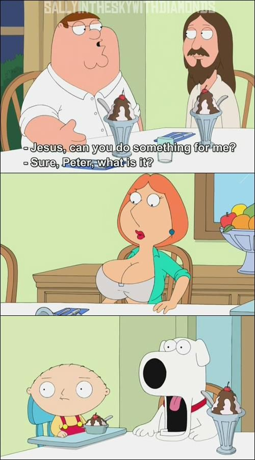 Love family guy lois sex with jesus