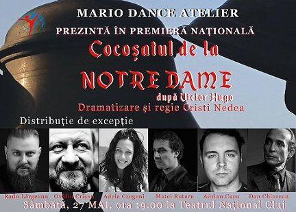"""CONCURS clujescu.ro. Nu rataţi şansa de a câştiga bilete la spectacolul de teatru """"Cocoşatul de la Notre Dame"""""""