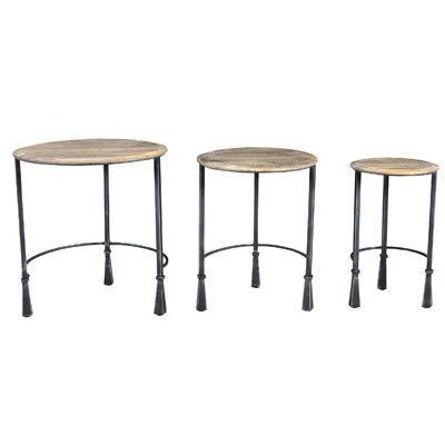 Caribou Dane Loki 3 Piece Nesting Tables