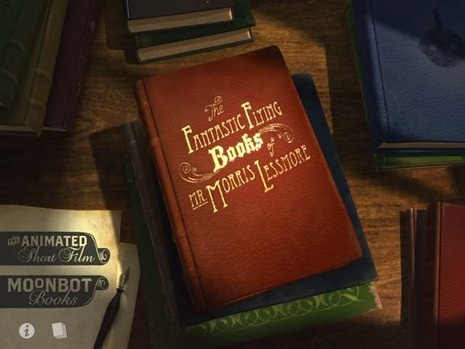 no. 16 - BEDTIME STORY   Oscar winning animated short - The fantastic flying books of Mr. Morris Lessmore - loved it.  #uncommongoods #contest