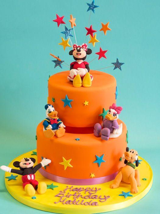 Disney Character Cake