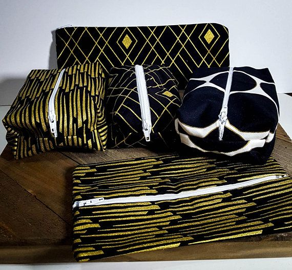 Our Art Deco Makeup Bags Are Ready To Ship Pick One