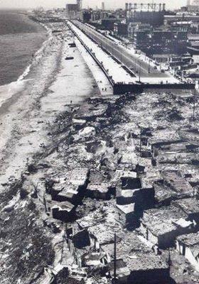 Barraquisme ala zona de l'actual VILA-OLIMPICA (BARCELONA), 1960 - 1965