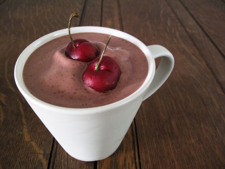 cherry chocolate shake