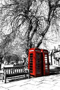 Interior Design and Home Decoration Artwork from Art Australia - buy this original signed print in 3 sizes.  Dualing Phone Boxes by David Rennie available via http://www.art-australia.com/dualing-phone-boxes-by-david-rennie/