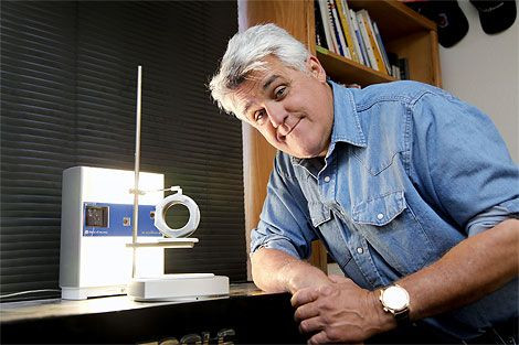 Jay Leno's 3D Printer Replaces Rusty Old Parts