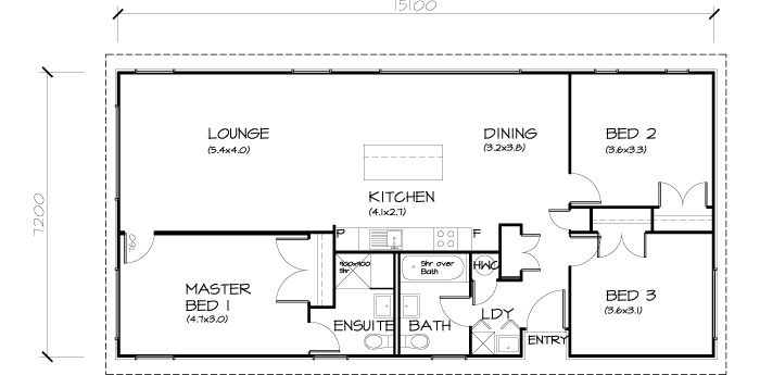 19 best home images on pinterest nest small homes and small houses 3 bedroom transportable homes house plan malvernweather Choice Image