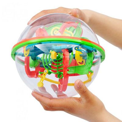 【 $6.97 & Free Shipping / Coupons 】Small Big Size 3D Labyrinth Magic Rolling Globe Ball Marble Puzzle Cubes Brain Teaser Game Perplexus Sphere Maze | worth buying on AliExpress