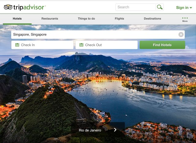 Trip Advisor one of must app for making your holiday plan easier joyful & well-informed