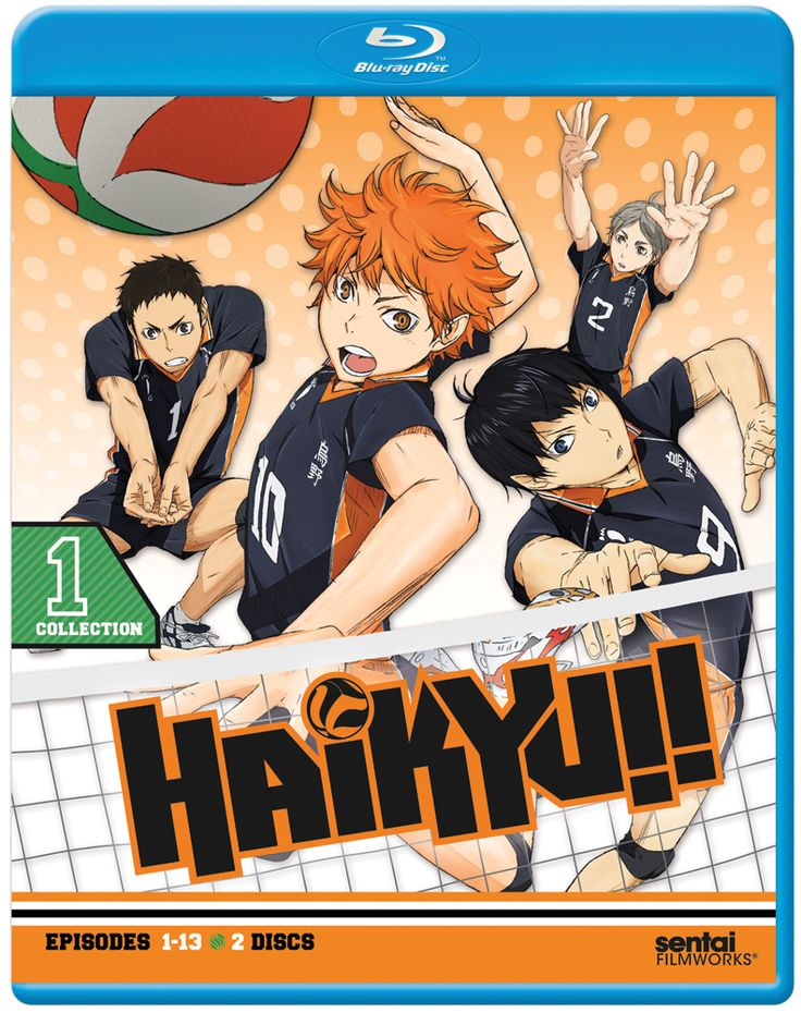 Haikyu!! Collection 1 BD (S) Haikyuu, Sports anime