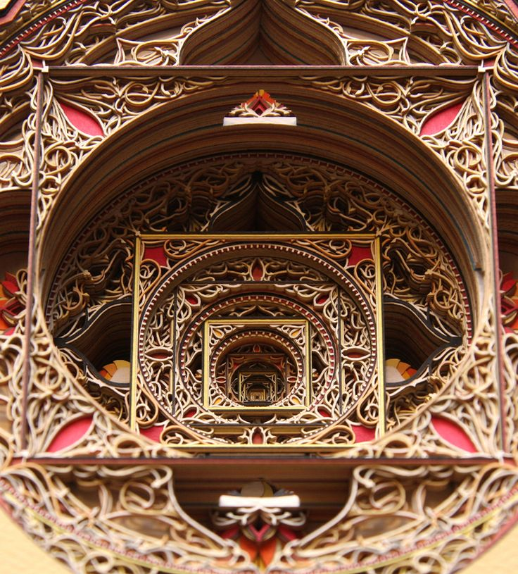 Zeno of Elea (detail) / ERIC STANDLEY / из БУМАГИ!!!! / PAPER!!!!!