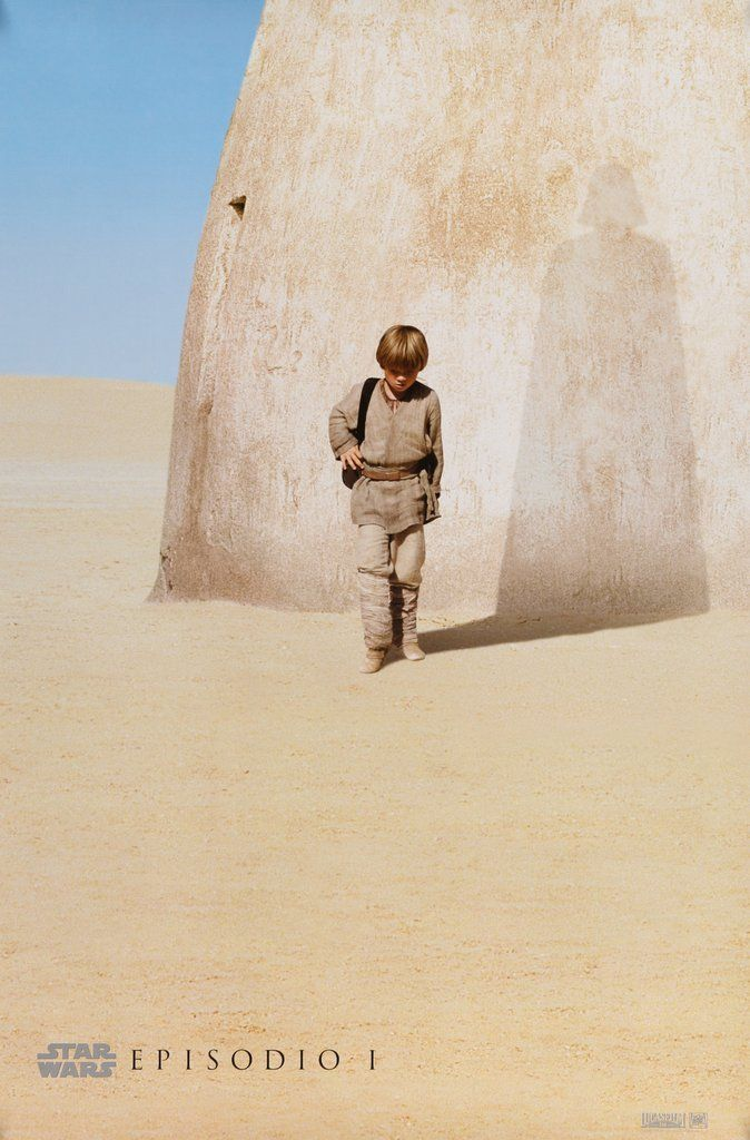 "Star Wars: Episode I - The Phantom Menace (1999) Advance Poster - 27"" x 40"" Free US Shipping!"