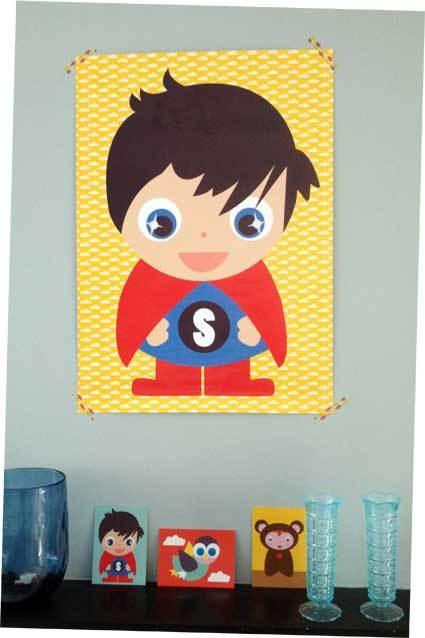 Poster superman Jojojanneke.nl