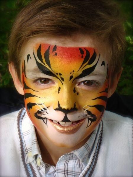 Pictures Of Tiger Face Paint