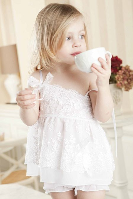 She's a natural! #linababy #kidswear #oilcloths #ladopana #baptism