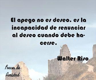 Frases De Amor De Walter Riso De Walter Riso Frases