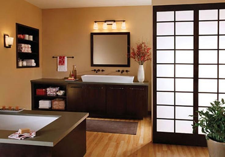 Buy Feiss Clayton 4 Light Bath Vanity Fixture In Oil: 95 Best Images About Salle De Bain / Bath Room On