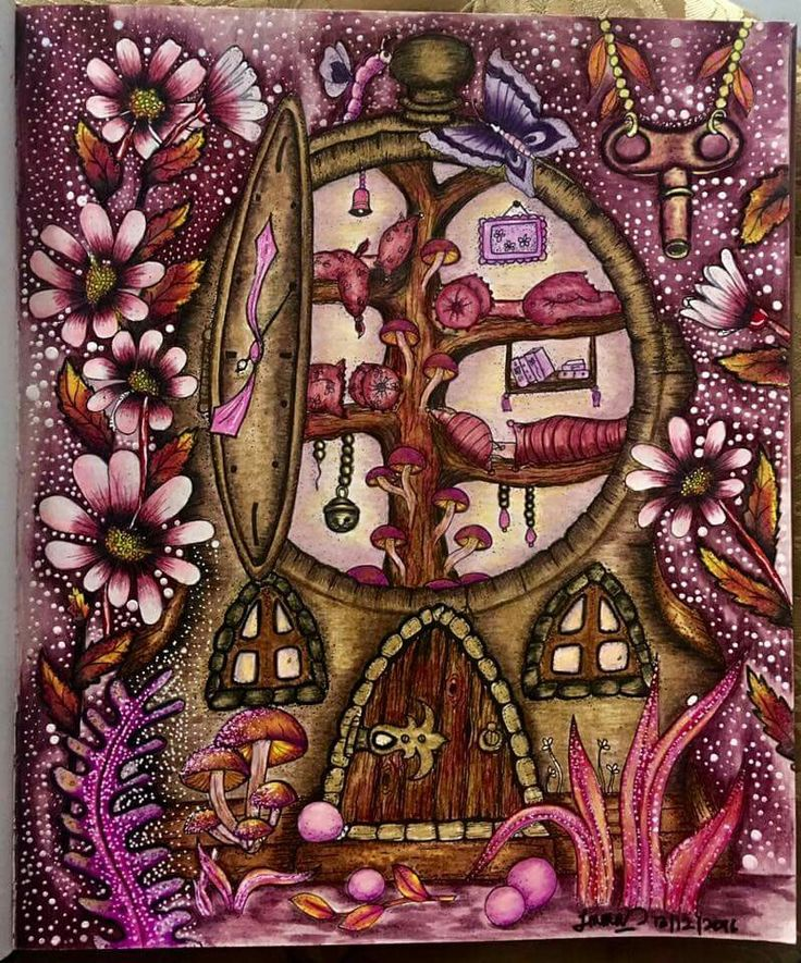 117 Best Images About Coloring Klara Markova On Pinterest