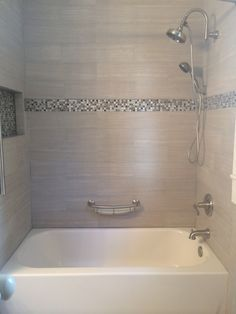 25 Best Ideas About Tile Tub Surround On Pinterest Tub Tile Bathtub Tile Surround And Wall Tiles Design