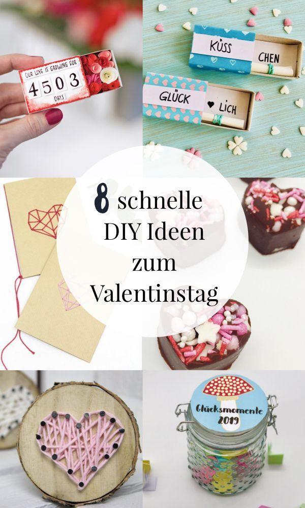 Frauen machen valentinstag selber geschenke für Valentinstag