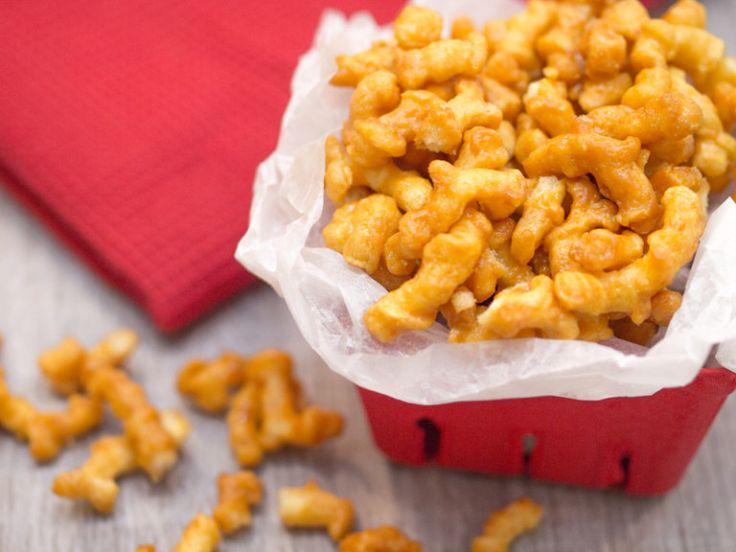 Caramel Popcorn Twists Recipe