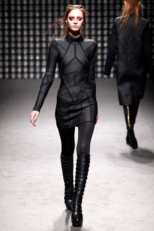 black. I see it as more of a full body suit, but the pattern is cool.
