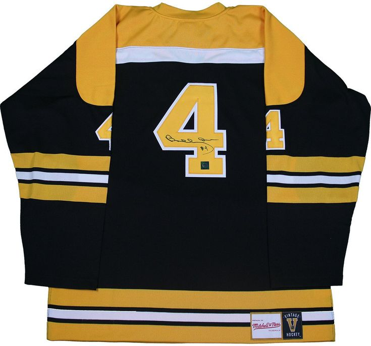 This jersey is personally hand-signed by Hockey Hall of Famer Bobby Orr.  100% Guaranteed Authentic Great North Road Authenticated Perfect Collector's Item $899.00