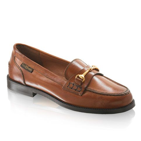 Russell & Bromley Brewster Snaffle Loafer Tan x