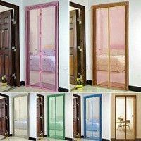 Wish | Premium Hands-Free Magnetic Door Fly Screen Magic Anti Mosquito Bug Mesh Curtain