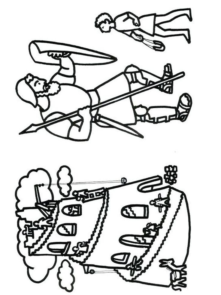 print david and goliath coloring pages. You must have