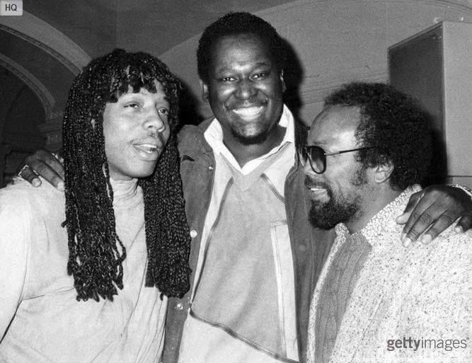 Rick James, Luther Vandross & Quincy Jones