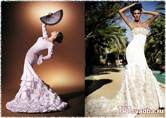 Платье фламенко сшить самой
