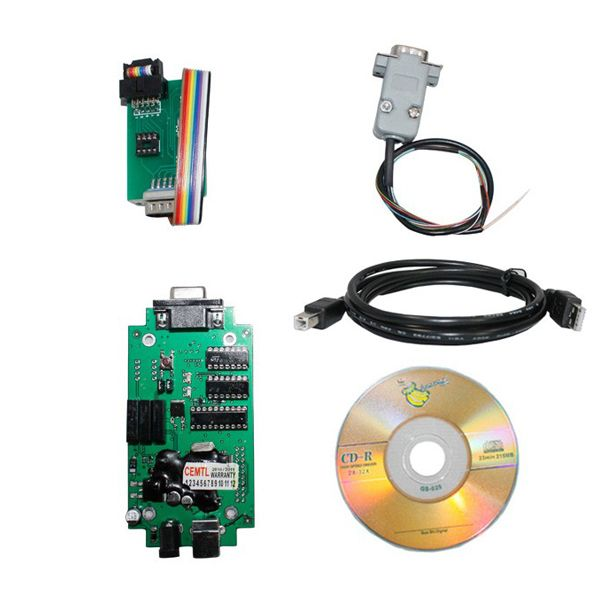 BMW CAS4 CAR PROG is a universal EEPROM tool that allows reading, writing and editing various types of EEPROM memories. I2C, SPI and Microware memory interfaces are supported. Device is communicating with PC through USB port.