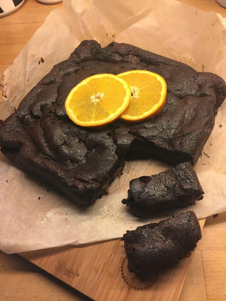 Charlottes Madblog: Syndig Brownie med valnødder